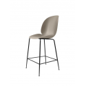 BEETLE counter chair, black/new beige