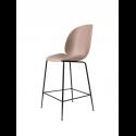 BEETLE counter chair, black/sweet pink