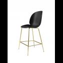 BEETLE counter chair, brass/black