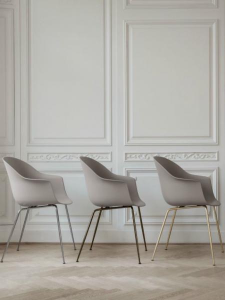 BAT stolička, kovová podnož