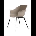 BAT stolička, conic base, black/new beige