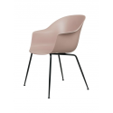 BAT stolička, conic base, black/sweet pink
