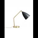 GRÄSHOPPA stolová lampa, black