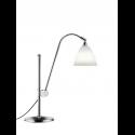 BESTLITE BL1 stolová lampa, chorme/bone china
