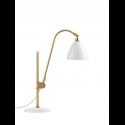 BESTLITE BL1 stolová lampa, brass/white