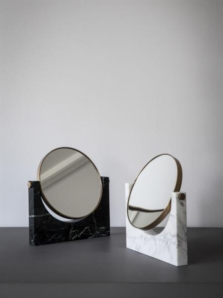 PEPE MARBLE MIRROR stolové zrkadlo