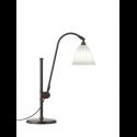 BESTLITE BL1 stolová lampa, black brass/bone china