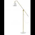 BESTLITE BL4 stojaca lampa, brass/white