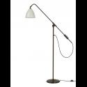 BESTLITE BL4 stojaca lampa, black brass/white