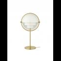 MULTI-LITE stolová lampa, brass/white