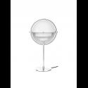 MULTI-LITE stolová lampa, chrome/white