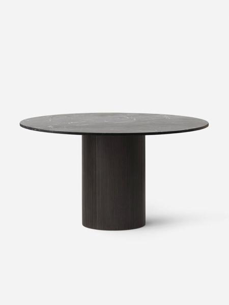 CABIN ROUND TABLE D130 VIPP494 DARK OAK BASE jedálenský stôl