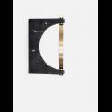 nástenné zrkadlo PEPE MARBLE MIRROR WALL black