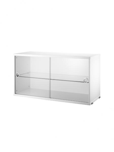 DISPLAY CABINET s posuvnými dverami, 78x30 cm
