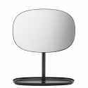 Kozmetické zrkadlo Flip black