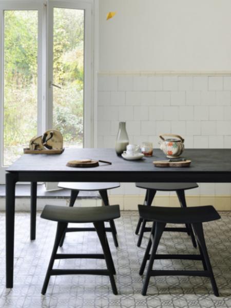 BOK jedálenský stôl, oak, black