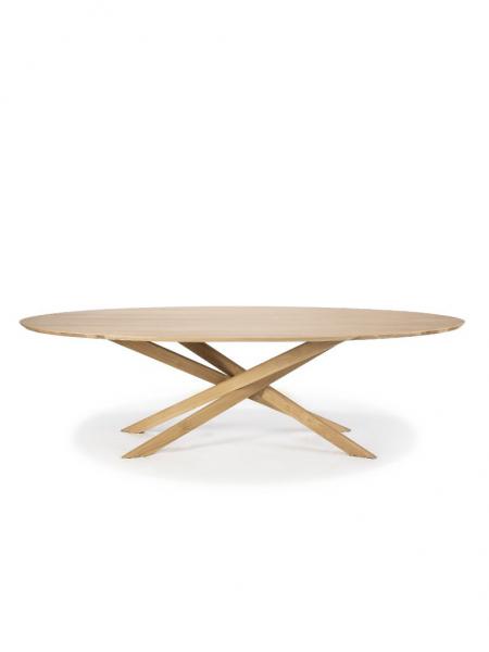 MIKADO jedálenský stôl, OVAL