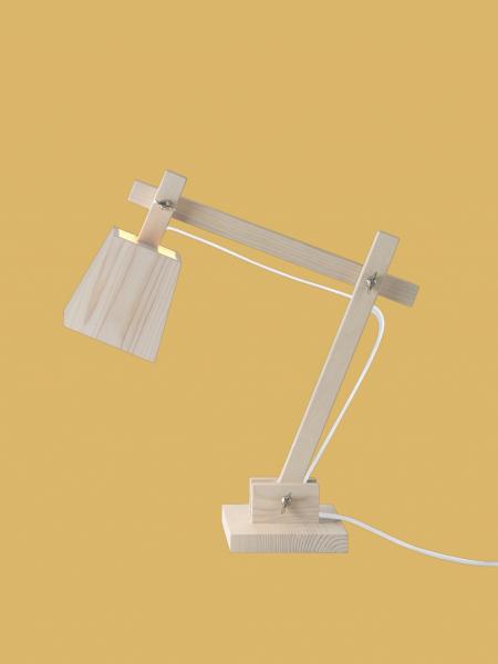 WOOD stolová lampa