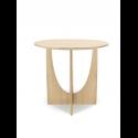 GEOMETRIC príručný stolík, oak