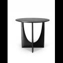 GEOMETRIC príručný stolík, black